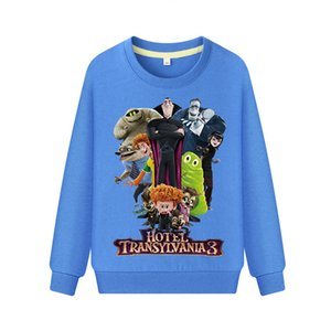 Hotel Transylvania 3 Spring Hoodies For Kids Clothing Drop Shipping Children Casual Sweatshirt Costume Boys Girls Clothes WK060