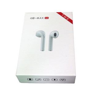 Wholesale i10 Max TWS Wireless Bluetooth White i10 max tws In Ear Earphones Earbuds Headset with Charging Box for iPhon android