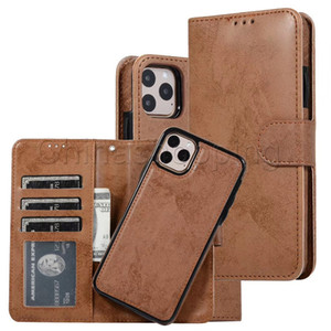 Wholesale luxury wallet Leather phone case Protector Phone Cover Flip back for iPhone11 Pro Max Plus For Samsung Note10 Plus