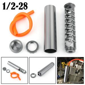 "USA STOCK 1 2-28 aluminum single piece fuel filter for NAPA 4003 WIX 24003 1.365"" OD Titanium"