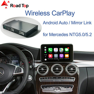 Wireless CarPlay for Mercedes Benz C-Class W205 & GLC 2015-2018, with Android Auto Mirror Link AirPlay Car Play Functions