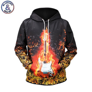 Wholesale Mr INC Brand Men Autumn Winter Clothing D print Fire Guitar Fashion Hoodies Funny Hooded Sweatshirt Pullovers EU Size XXXL