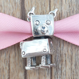 Wholesale bots for sale - Group buy Authentic Sterling Silver Beads Bobby Bot Dog Charm Charms Fits European Pandora Style Jewelry Bracelets Necklace EN12
