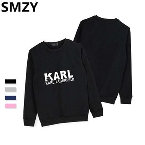 Wholesale SMZY KARL Hoodless Hoodies Mens Sweatshirts Long Sleeve Crewneck Pop Hoodie Sweatshirt Autumn Fashion Blend Hoodies Casual Cloth #347322