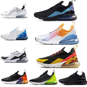 Wholesale New FLORAL Women Men Running Shoes SE Triple Black White RAINBOW HEEL Volt Orange for Mens Trainer Sport Sneakers shoe Size
