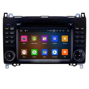 Wholesale 7 inch Android 9.0 GPS Navi Radio for 2004-2012 Mercedes Benz B Class B200 with Touchscreen Carplay Bluetooth WIFI support OBD2 SWC car DVR
