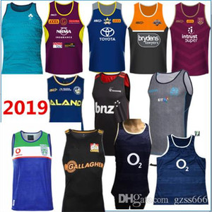 Wholesale 2019 Cowboys West Tigers Mustangs Home Rugby uniform singles shirt Crusaders selling high quality Rugby League vest