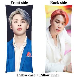 Korea boyfriend Jimin hugging long body Pillow include pillow filler inner