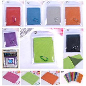 Wholesale packing for towels for sale - Group buy Magic Ice Towel Cooling Summer Cold Sport Fitness Yaga Quick Dry Towel For Children Adult Kids cm Pack Choose HH7