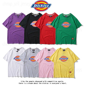 0fd4760538cc3 Dickies Spring 2019 New Men s Clothes All Cotton Fashion Men s Round Neck  Short Sleeves