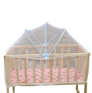 Wholesale Baby Bed Mosquito Net Mesh Summer Dome Curtain Net Foldable Safe Toddler Crib Cot Canopy Mosquitos for Kids A723
