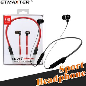 Wholesale Light G16 Headphones New Sport Bluetooth Earbuds Magnetic Long Standby Wireless Earphones with Retail Box for Iphone x Samsung Galaxy note