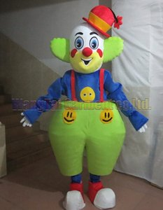 Clown mascot costume Free Shipping Adult Size, Joker mascot suit plush toy carnival anime movie classic cartoon mascot factory sales