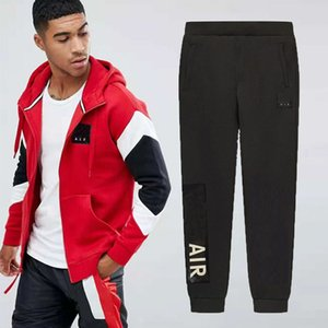 Wholesale Autumn Brand Tracksuits Mens Sweat Suits Sportwear Cardigan Hoodies Pants With AD Letters High Quality Tracksuit Clothing L XL