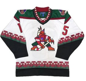 Wholesale Men Women Youth Phoenix Arizona Coyotes #15 Craig Janney 35 Darcy Kuemper 23 Oliver Ekman-Larsson 9 Clayton Keller Hockey Jersey 5XL 6XL