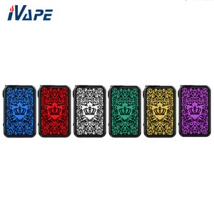 Wholesale crown battery for sale - Group buy Original UWELL Crown IV TC Box Mod W New Circuit Board Design Powered by Dual Battery Supports Power TC Bypass Mode