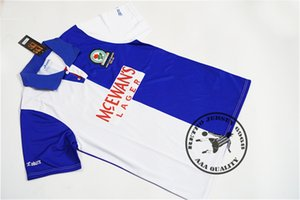Wholesale pl for sale - Group buy blackburn PL champions home shirts shearer duff batty vintage soccer jersey
