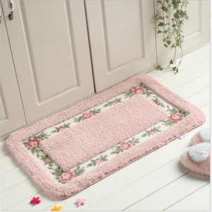 Wholesale Pink Plush Soft Shaggy Rugs and Carpets for Living Room Area Rug for Kitchen Carpet Kids Room Bedroom Window Bedside Doort Mat