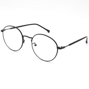 Wholesale Glasses frame men and women round glasses frame fashion light casual trend street shooting pure art