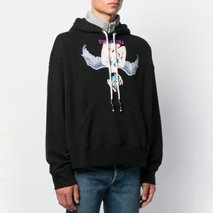 2020SS Palm Angels Printing Hoodies Oversize Style Hooded Sweatshirts Fashion Casual Pullover Highstreet Skateboard High Quality HFLSWY347