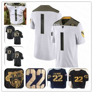 fútbol ejército al por mayor-Custom NCAA Hombres Ejército Black Knights Jersey de fútbol de Ansberry Kelvin Hopkins Jr Darnell Woolfolk Andy Davidson James Gibson Kell Walker