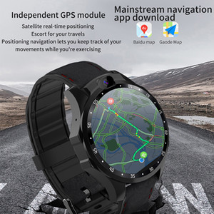 grand smartwatch achat en gros de-news_sitemap_homeMoniteur de fréquence cardiaque Smartwatch G Netcom Android HD Dual Caméra pouce IPS Message grand écran Rappel GPS Smart Watch