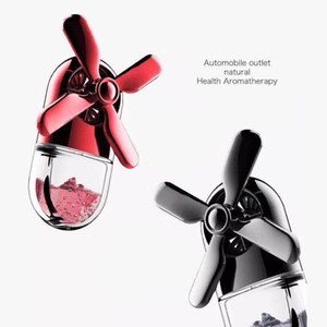 Wholesale New Perfume Car Air Freshener Fan Cute Lady Auto Air Vent Clip Outlet Aromatherapy Car styling Interior In Auto Accessories