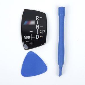 Car Auto Gear Shift Knob Panel Sticker Part For X1 X3 X5 F01 F10 F30 F35 F18