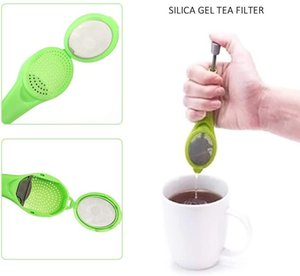 prensas de café venda por atacado-Tea Infuser Gadget Medida Coffee Tea redemoinho Steep mexa e Imprensa Plastic Tea Coffee Filtro