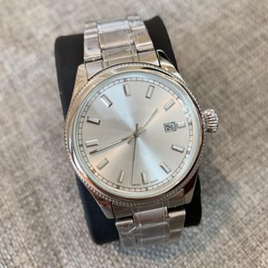 Wholesale High Quality Fashion Male 2019 New Watch 38mm Man Watches Luxury Quartz Watch Gentleman Clock Relogio Montre Stainless Steel Wristwatches