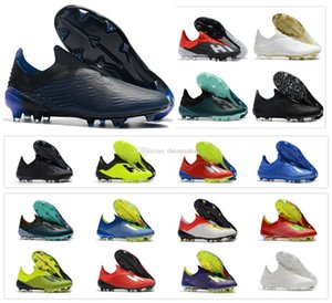 Hot New X 18.1 18 FG Mens Soccer Football Shoes Salah Jesus 18 x SKELETALWEAVE Soccer Boots Soccer Cleats Size US6.5-11 on Sale
