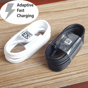 Wholesale For Samsung Galaxy S10 S10E S10 S9 S9 S8 S8 Note A9 A9S A7 a5 A3 Type C USB C Sync Fast Charger Cable Charging Cables