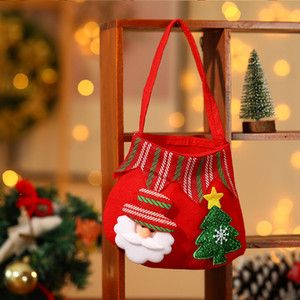 Wholesale Cute Sock Halloween Christmas Tree Hanging Pendant New Year Tree Pendants Christmas Gift Bag Party DIY Home Decorations