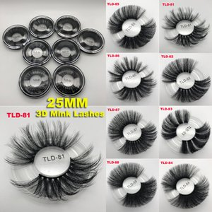 2019 New 25mm Eyelashes 5D Mink Eyelash 25mm Long Individual Sexy False Eyelashes Mink Lashes Better 3d eyelash Extended Edition 8 styles