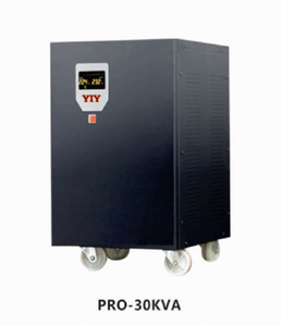 PRO-30KVA colorful display AC automatic voltage regulator stabilizer servo type split phase in stock factory direct sale support customize