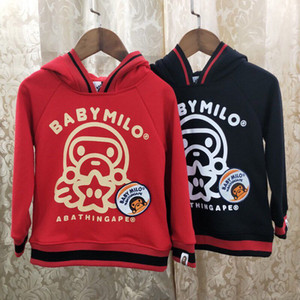2019 Spring And Autumn Printing All-match Sweater Long Sleeve Pure Cotton Motion Leisure Time Quality Children Clothing Agent0507 on Sale