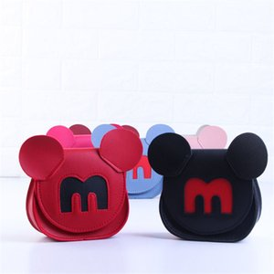 Wholesale cartoon mouse Shoulder Bags Children s small bag Women s mobile phone change bag handbags