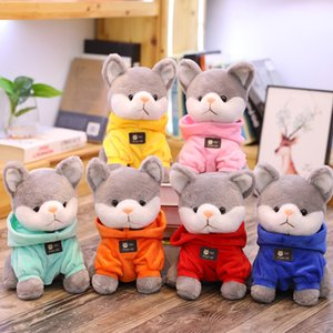 2019 new creative plush toys cute sweater dog doll Stuffed Animals puppy toys to send girlfriend birthday gift kids toys