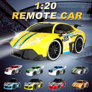 1 :20 Rc Car Electric Remote Control Rc Mini Car Cool And High Speed Car Toy With Radio Remote Controller For Children Gift on Sale