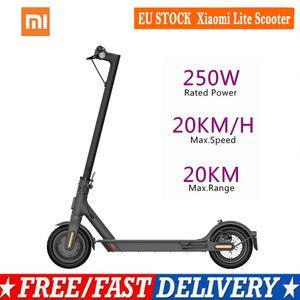 Xiaomi Mi Lite Electric Scooter Adult 20km h Balance Foldable Smart Scooter 250W Motor Original Xiaomi Electric Scooter