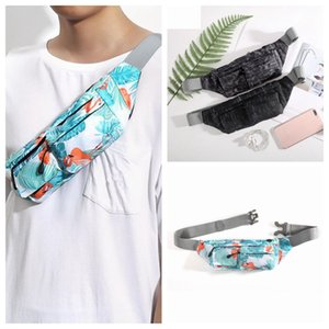Outdoor Camouflage Chest Bag Fashion Print Waterproof Single Shoulder Bags Multifunctional Phone Waistpack Hiking Sports Waist Bag ZZA1072