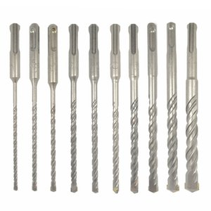 10Pcs Electric Hammer Sds Plus Drill Bit Set 160Mm for Concrete Wall Brick Block Masonry Hole Saw Drilling Bits 4Mm 5Mm 6Mm on Sale