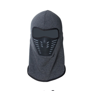 Wholesale motorcycle thermal face mask resale online - Winter Warm Motorcycle Windproof Face Mask Motocross Face Masked Cs Mask Outdoor Sport Warm Bicycle Thermal Fleece