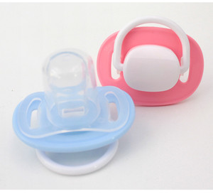 Wholesale Newborn Kids Soft Silicone Pacifier Baby Teat Soother Nipple Infant Baby Pacifier Newborn toys p