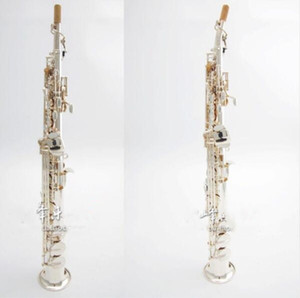 Wholesale brass instruments resale online - High Quality Japan YANAGISAWA S991 B flat Soprano Saxophone Musical Instruments Sax Brass Silver plated With Case Professional