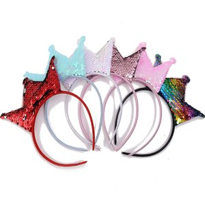 Glitter crown headband birthday party costume party Halloween headband