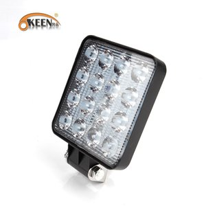 Wholesale OKEEN v W Headlights lamp led work lights bar light offroad driving car truck x4 ATV tractor led work light Spot Flood