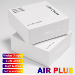 Wholesale Bluetooth Earphones Airplus Tws Earbuds BT5 Touch Control Headset Support Wireless Charging for Smart Cellphones I9S I7S I12 I10 I18 TWS