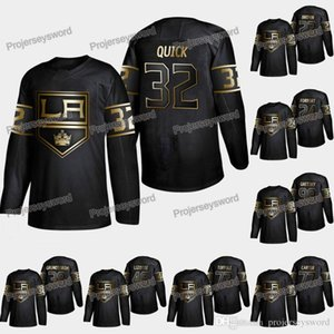 Wholesale Los Angeles Kings Jonathan Quick Golden Edition Jersey Dustin Brown Jack Campbell Jeff Carter Wayne Gretzky Tyler Toffoli Austin Wagner