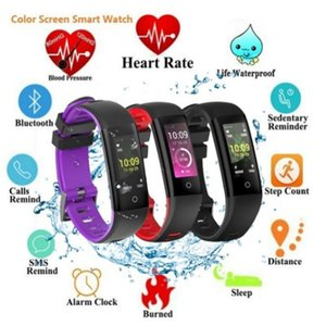 Newest Color Screen Intelligent Sports Wristband Multi-Function Health Monitoring Call Reminder waterproof Smart Watch on Sale